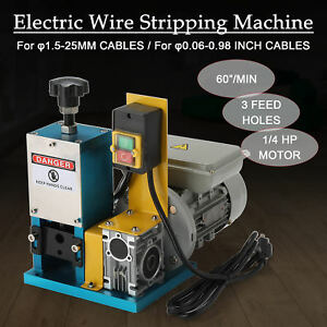 Electric Wire Stripping Machine Portable Scrap Cable Stripper