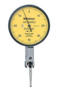 Mitutoyo 513 404 10a Dial Test Indicator 0 8mm Range 0 01mm Graduation