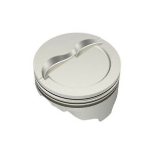 Icon Ic753 030 Chevy 400 Forged Dished 030 Pistons 5 7 Rod W Dish