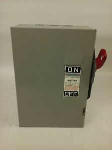 Challenger H1332sn Safety Switch Type 1 Indoor 30a 240v Fusible New