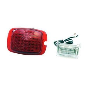 1937 38 Chevy Led Tail Light Conversion Left Lens