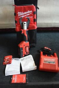 Milwaukee 2678 20 Force Logic 18 Volt Crimper Kearney Jaw Never Used