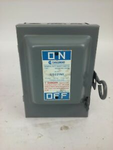 Challenger Gd221nf 30a 240v 3 Max H p Type 1 Indoor Safety Switch New