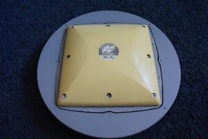 Topcon Brand Gps Antenna Model Pg a1 P n 01 840201 06 With Ground Plane