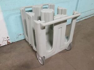 cambro Dc1125 H d Commercial Plate Holder dispenser carrier Poly Cart caddy
