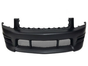 05 09 Ford Mustang V6 Boy Racer Style Front Bumper W Lower Mesh Grilles