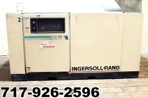 Ingersoll Rand Ssr ep100 Rotary Screw Air Compressor 100hp 440cfm 125psi 230 460