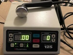 2007 Dynatronics Dynatron 125 Ultrasound Unit Physical Therapy Chiropractor