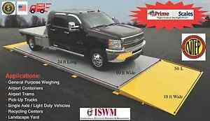 24 Ft X 10 Ft Truck Scale 40 000 Lb Ntep Legal For Trade Axle Scale Car Scale