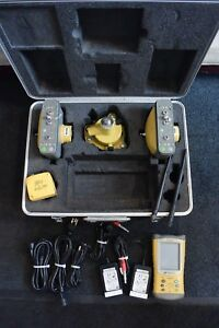 Topcon Model Hiper Lite Base And Rover Gps Set Fc 120 Data Collector Clean