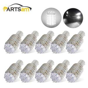 10pcs 1156 White 63 led Turn Signal Corner brake back Up Car Light Bulbs