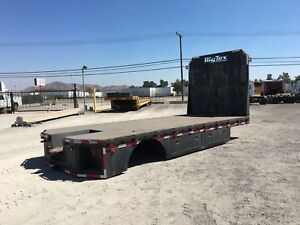 Bixtex 20ft Flatbed Truck Body