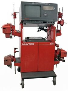 Hunter G111 Computerized Automobile Wheel Balancer Aligner Alignment Machine