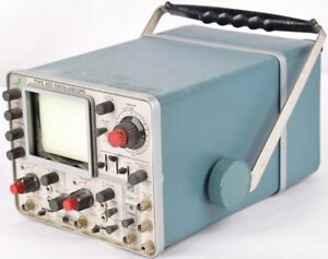 Tektronix 422 Industrial Portable Dual trace 2 channel Analog Oscilloscope Parts