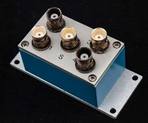 Mini Circuits Zsc 4 1 0 1 200mhz 50 Ohm 4 way Rf Coaxial Power Splitter combiner