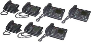 7x Nortel Networks Ntdu82 I2004 Ip Business office Lcd Telephone W handset