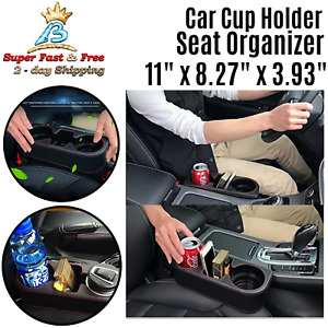 Car Cup Holder Storage Organizer Bracket Replacement Car Interior Black Deluxe