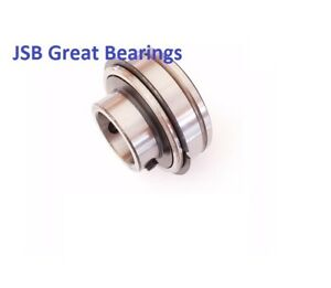 qty 10 Ser202 10 Insert 5 8 Ball Bearing With Snap Ring High Quality Er202 10