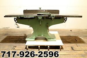 Crescent 16 Jointer Wood Thickness Planer 3 Blade Cutterhead 84 Long Bed
