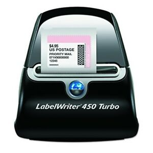 Dymo 450 Label Writer Turbo Thermal Printer Ebay Paypal Compitable