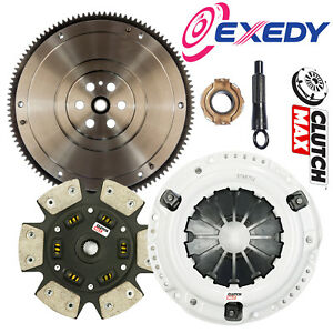 Clutchmax Stage 3 Racing Clutch Kit Exedy Flywheel For 92 05 Civic D15 D16 D17