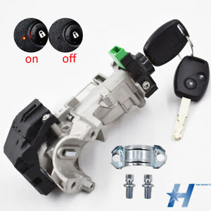 Ignition Switch Cylinder Lock Auto Trans 2 Key Fit For 06 11 Honda Civic New Usa