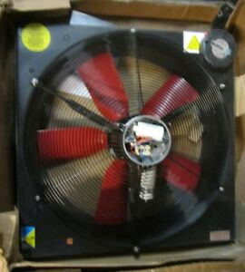 24 Exhaust Fan Medium Performance Corrosion Resistant 1 Phase 1050rpm 5 9amps
