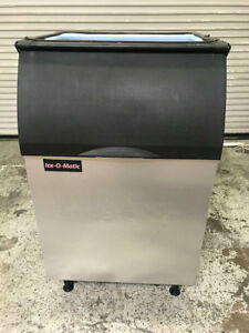 510 Lb Ice Storage Bin Ice o matic B55ps Stainless Steel Nsf 8772 Insulated Box