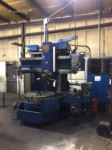 Used 42 G l Giddings Lewis Vertical Turret Lathe Boring Mill Series 65