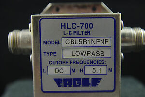 One Eagle Lowpass Rf Microwave Filter Module