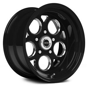 15x7 Vision Sport Mag Black Magnum Pro Ssr Drag Racing Wheel 5x4 75 1pc No Weld