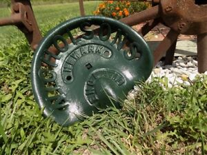 Cast Iron Tractor Seat Country Farm Implement Sign Fits John Deere Nicholson A36