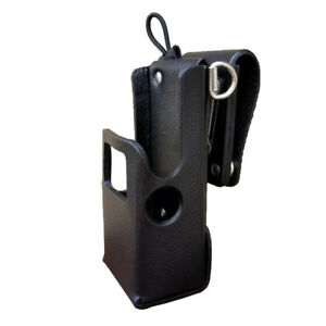 Case Guys Mr8607 3awd Hard Leather Holster For Motorola Apx 6000 8000 Radios