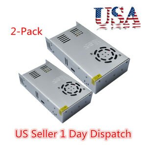 2x Dc 12v 30a 360w Switch Power Supply Adapter For Led Strip Light Ac 110v 220v