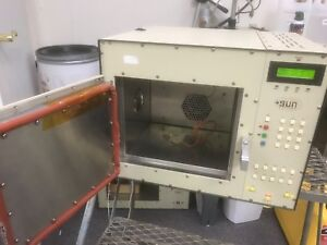 Sun Ec1a Environmental Chamber Oven Ln2 Cooling Computer Software Warranty