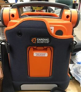 Cardiac Science Powerheart Aed G5 Fully Automatic G5a 80p1 Stocked Kit Pads Used