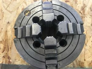8 Rohm Plain Back 4 jaw Independent Metal Lathe Chuck