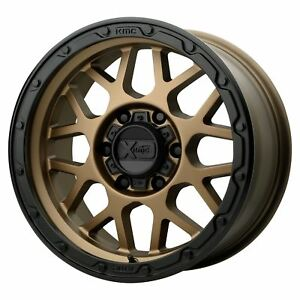 Xd Series Xd135 Grenade Off road 20x9 18 Bronze W black Lip Wheel 6x135 qty 4