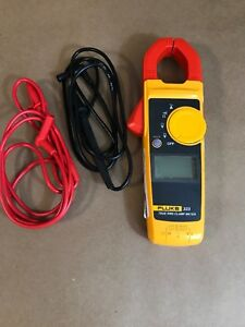 Fluke 323 True rms Clamp Meter Lightly Used Calibrated