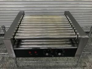 New Hot Dog Roller Machine Cy 011 8799 Commercial Grab Go Self Serve Cooker