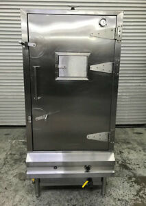 36 Stainless Steel Gas Bbq Oven Meat Smoker 4 Burner Allstrong Eq36ar 8808 Nsf