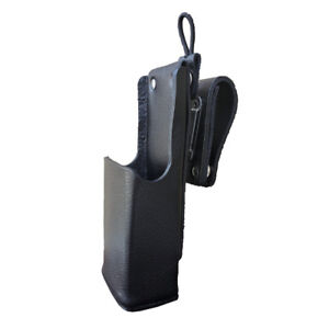 Case Guys Mr8570 3aw Hard Leather Holster For Motorola Apx 6000xe Radios