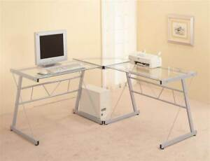 Computer Desk With Tempered Glass id 3182220