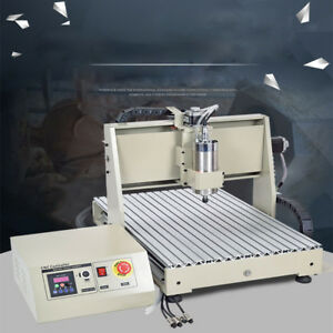 4 Axis 6040 Cnc Engraver Usb 1500w Milling Machine Engraving Drilling Vfd