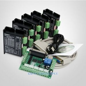 Cnc Kit 5 Axis Breakout Board Engmate Stepper Motor Driver Ema2 040d22