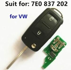 Full Function Vw Volkswagen Touareg 2002 2010 Fully Functional Remote Key Fob