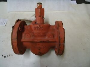 Resun Huber D126 2 Plug Valve With 104 Lub Button Hd Fitting 200wog 37508