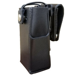 Case Guys Mr8550 3bw Hard Leather Holster For Motorola Xpr 7350e Radios