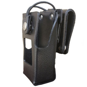 Case Guys Kw9065 3bw Hard Leather Holster For Kenwood Nx 3220 Nx 3320 Radios