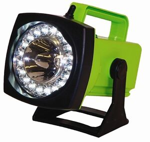 Sho me Spot flood Led Rechargeable Light Dc Charger vehicle Plug in